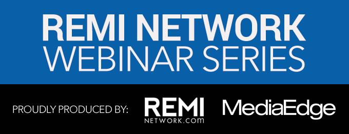 REMI Network Webinar Series
